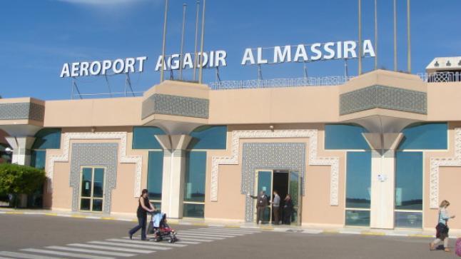 ارتفاع عدد مسافري مطار المسيرة أكادير سنة 2017