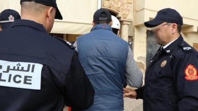 توقيف ضابط أمن بإنزكان بتهمة الحاق خسائر مادية بملك الغير