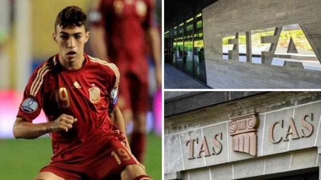 """هذا ما قررته محكمة الـ""""طاس""""بخصوص مشاركة الحدادي مع المغرب في كأس العالم"""