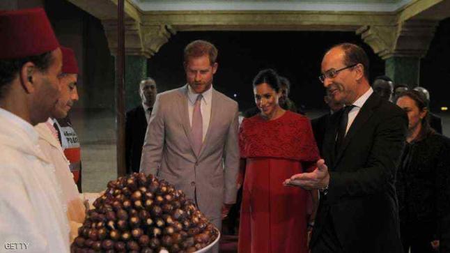 الأمير هاري وزوجته يحلان بالمغرب في زيارة تاريخية