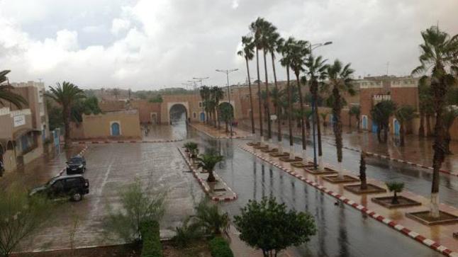 مقاييس التساقطات المطرية المسجلة بمناطق سوس خلال ال24 ساعة الماضية
