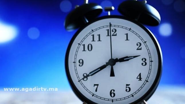 """المغرب يعود إلى الساعة القانونية """"غرينتش"""" قبل رمضان"""