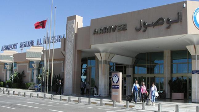 أزيد من 180 ألف مسافر استعملوا مطار المسيرة أكادير خلال شهر واحد