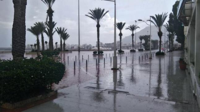 تساقطات مطرية مرتقبة غدا الإثنين بأكادير