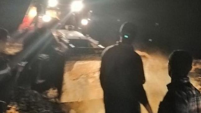 """بداية انتشال جثث ضحايا فاجعة """"إجوكاك"""" بالحوز (فيديو)"""