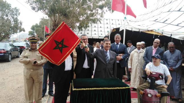 بمناسبة حلول ذكرى عيد العرش تدشين مشاريع هامة لفك العزلة عن المناطق القروية بأكادير إداوتنان