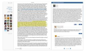 SocialBook sample screen  Source-Futureofthebook org