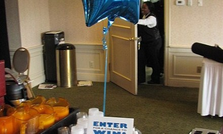 Look For the Blue Balloon!