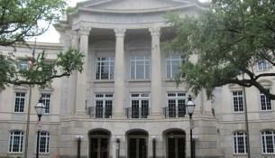 Gaillard Center Front Entrance