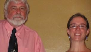 Derek Law and Erin Gallagher
