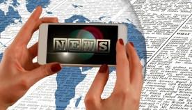 news hands