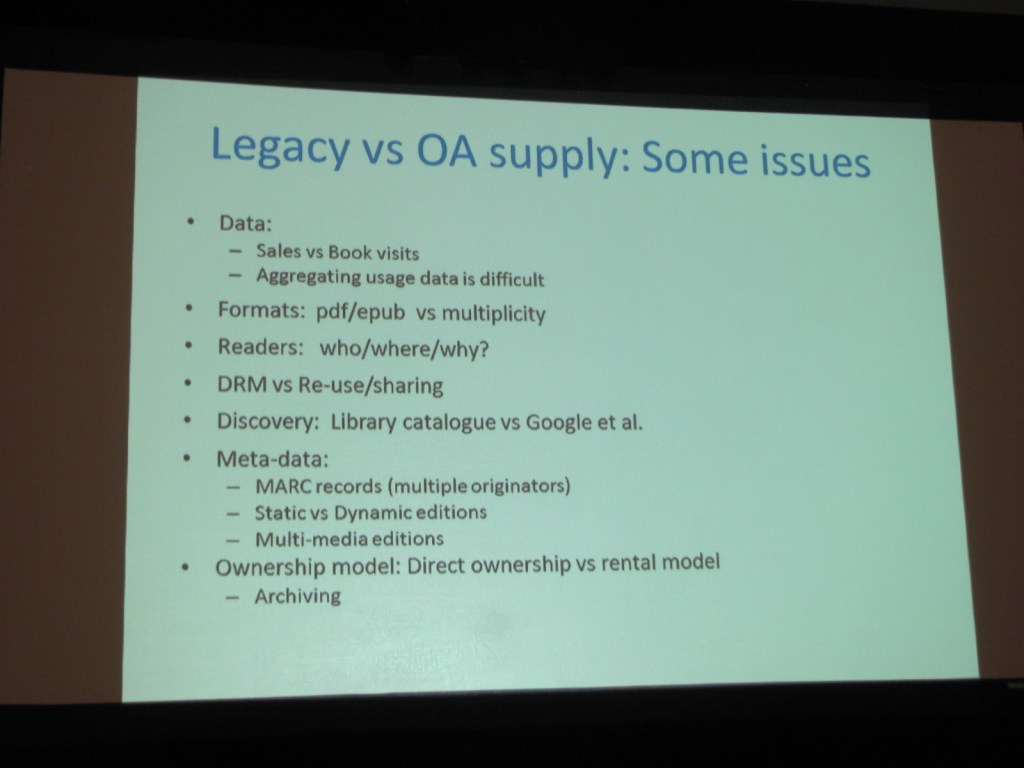 Legacy vs. OA Supply