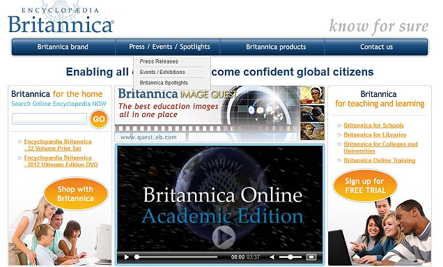 "ATG ""I Wonder"" Wednesday: Does your library subscribe to the online Encyclopedia Britannica?"