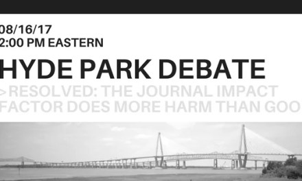 Free Live Webcast: Charleston Conference Hyde Park Debate