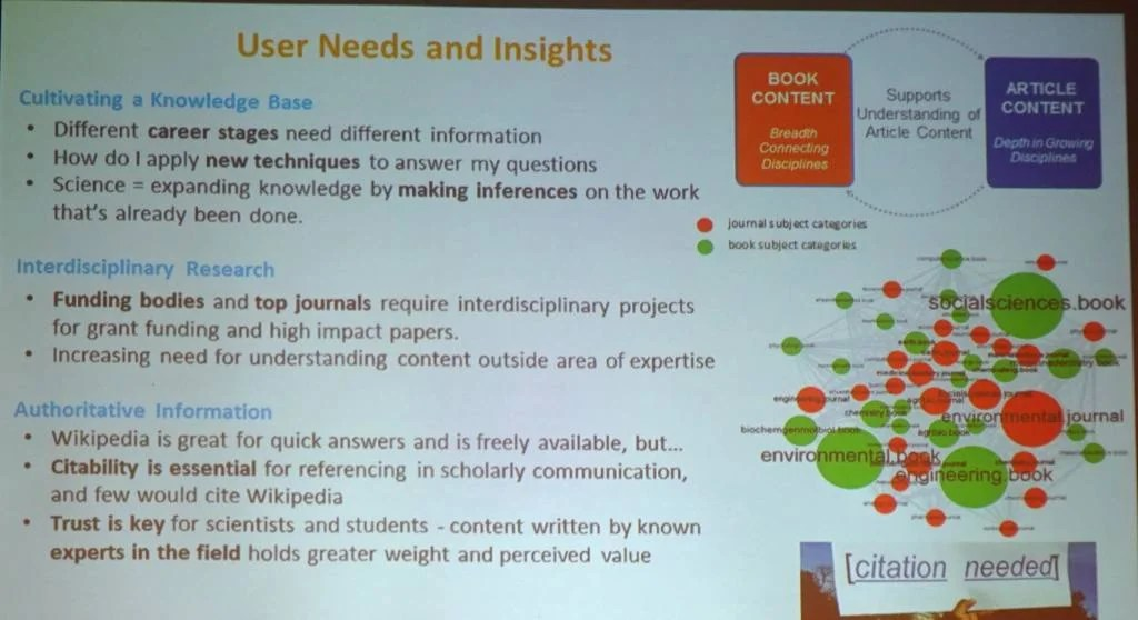 User Needs and Insights