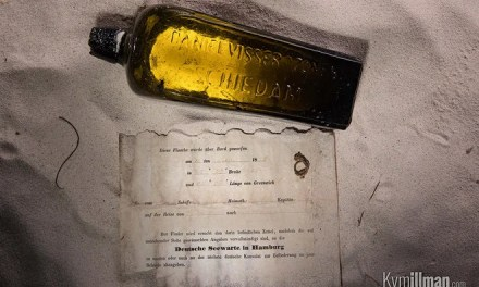 ATG Quirkies: 131 Year Old Message in a Bottle