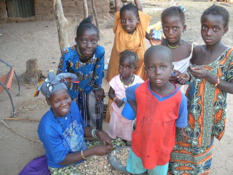 Сенегальские ребятишки