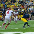The Michigan Wolverines are a good bet as one of the week 12 college football underdogs to cover the spread. Flickr/http://bit.ly/1GJe6HW