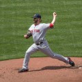 Boston Red Sox hurler Wade Miley will face three favorable match-ups during the next week. Flickr/Keith Allison