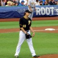 Pittsburgh Pirate starting pitcher Jeff Locke has been one of the best options for the Pirates lately. Flickr/http://bit.ly/1NK56aA/Natalie Litz