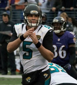 The Jacksonville Jaguars will face an over/under of 5.5 wins. Flickr/http://bit.ly/1JdVVl7/Keith Allison