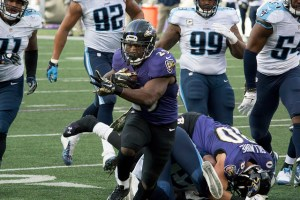 Justin Forsett has been terrible this season for Baltimore. Flickr/http://bit.ly/1P4ogsF/Keith Allison