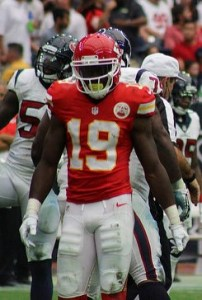 Jeremy Maclin should be solid in the week 4 start/sit for wide receivers. Flickr