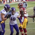 Keep Adam Thielen in your week 16 fantasy football starting lineup. Flickr/Keith Allison