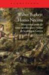 Homo Necans, de Walter Buckert