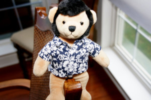 Picture of Teddy Bear dressed as Elvis