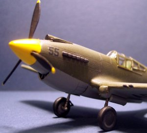 Academy's 1/72 P-40B