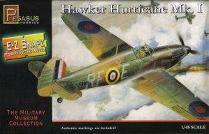 In the box preview: Pegasus Hobbies Hurricane Mk. I