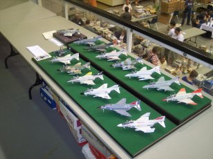 Some great models were on display.