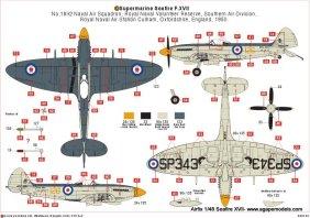 airfix-seafire-XVII-2