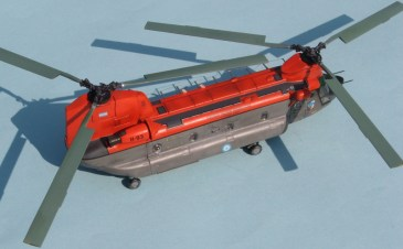 7 Ch-47 Chinook FAA H-93 upper starboard rear