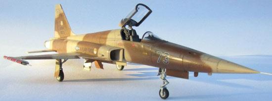 Readers' Gallery: Andy Mason's 1/48 AFV Club F-5E Aggressor