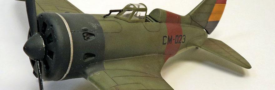 hobbycraft-1-48-I-16-type-5-spanish-civil-war-cover