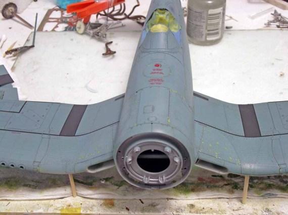 Build Report: Drew Hatch's Tamiya 1/32 F4U-1 Corsair