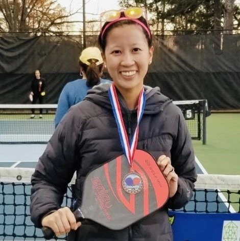 Pickleball Coach Anh Spinks at Agape Tennis Academy