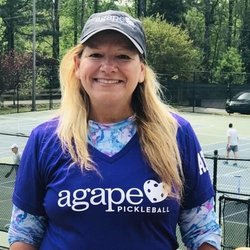 Pickleball Coach Ruth Amiel at Agape Tennis Academy