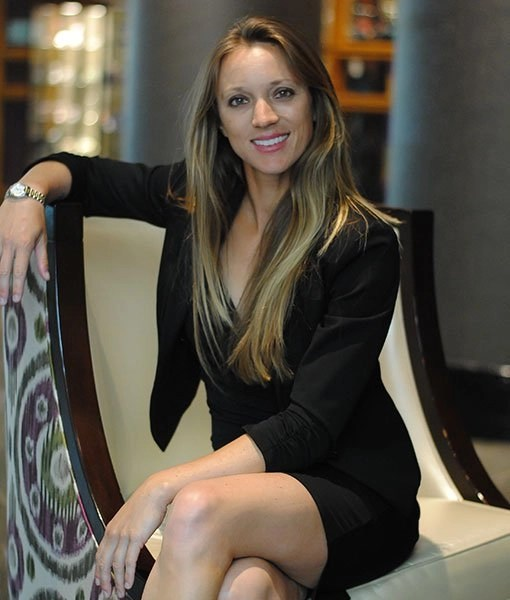 Amy Pazahanick, owner and CEO of Agape Tennis Academy