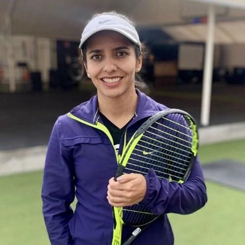 Coach Maria Camberos at Agape Tennis Academy at Fountain Valley Tennis and Pickleball Center