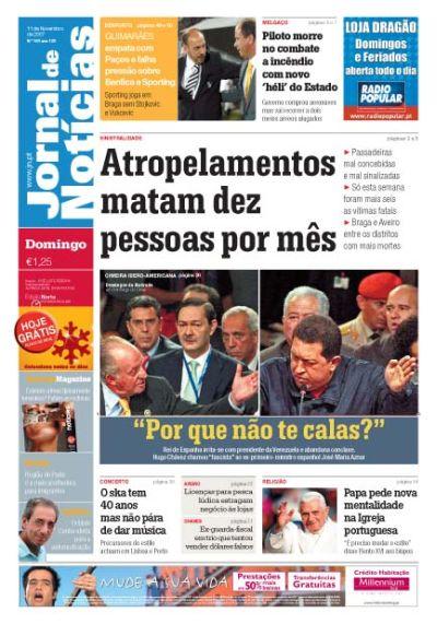Porque no te callas? - Jornal de Noticias