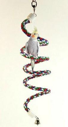 cuerda para colgar en jaula pajaro