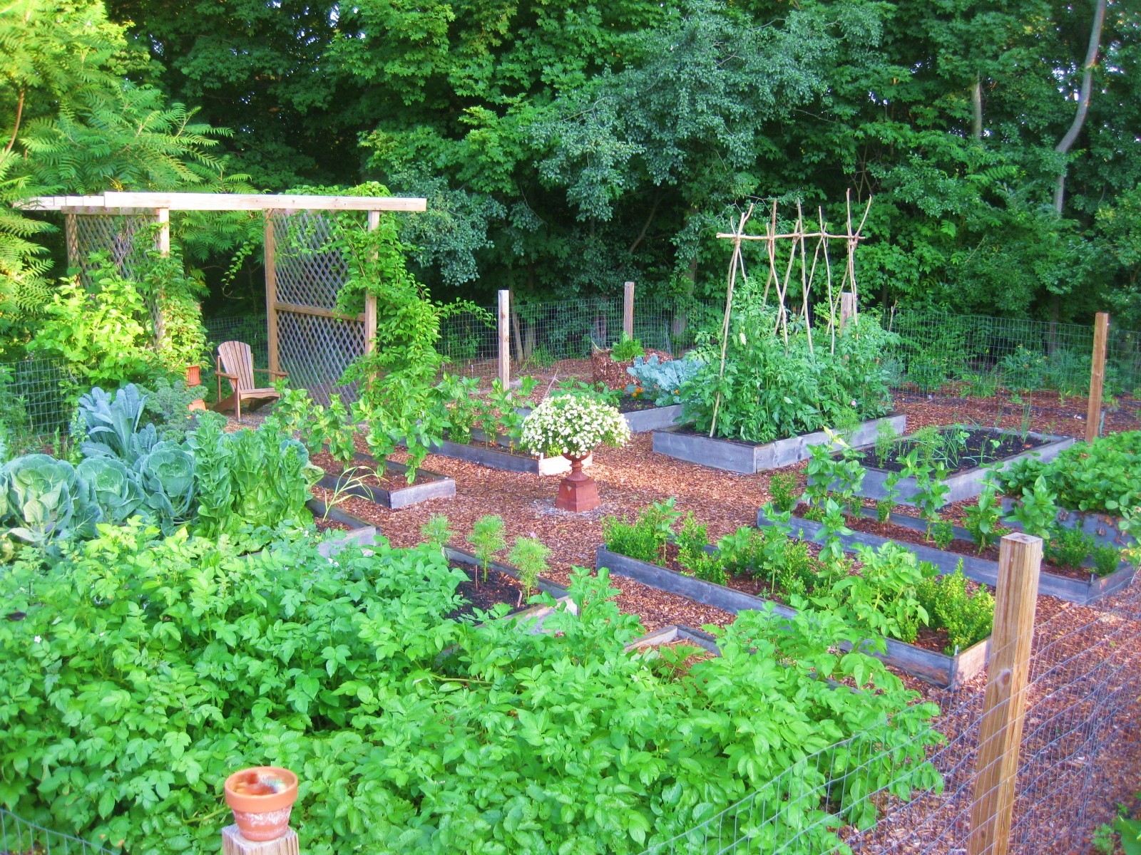 Creating a Raised Bed Garden - Kevin Lee Jacobs on Backyard Raised Garden Bed Ideas id=85671