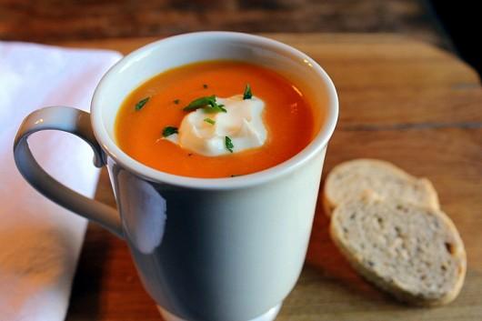 Kevins Carrot Ginger Orange Soup