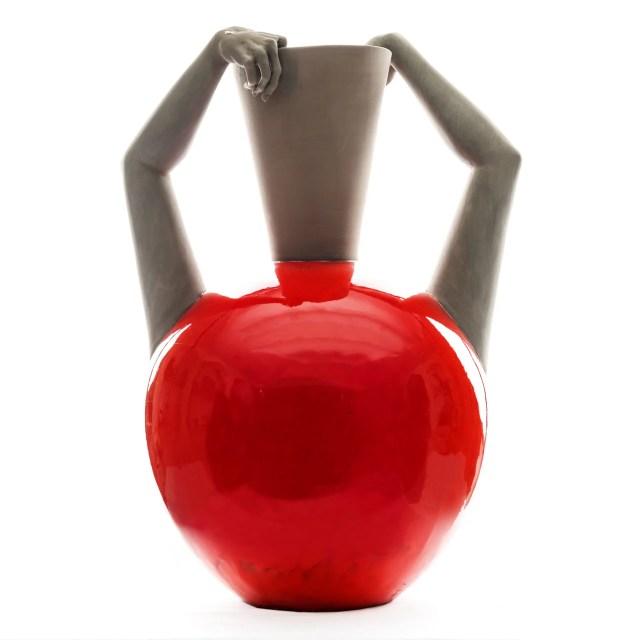 Fotografia scultura Autogenesi monocromatica giant red
