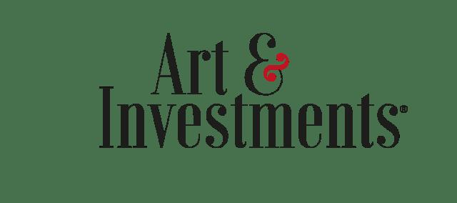 Logo in vettoriale della rivista d'arte Art & Investments