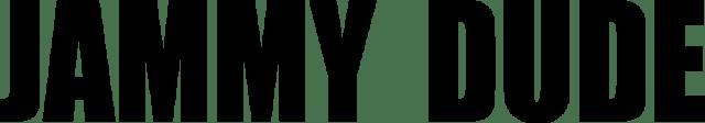 Logo in vettoriale della startup di moda Jammy Dude