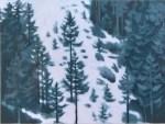 東山魁夷 「雪の後 」